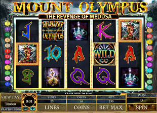 Mount Olympus slot game online review