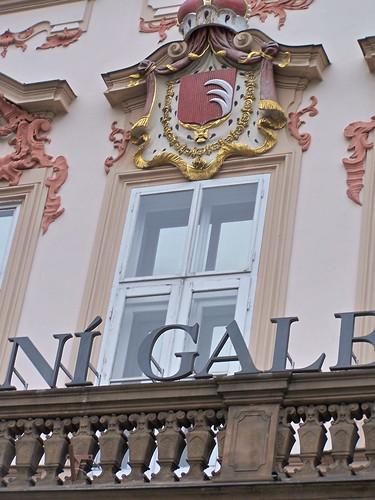 Goltz-Kinsky Palace. Prague, Czech Republic. January 8, 2012