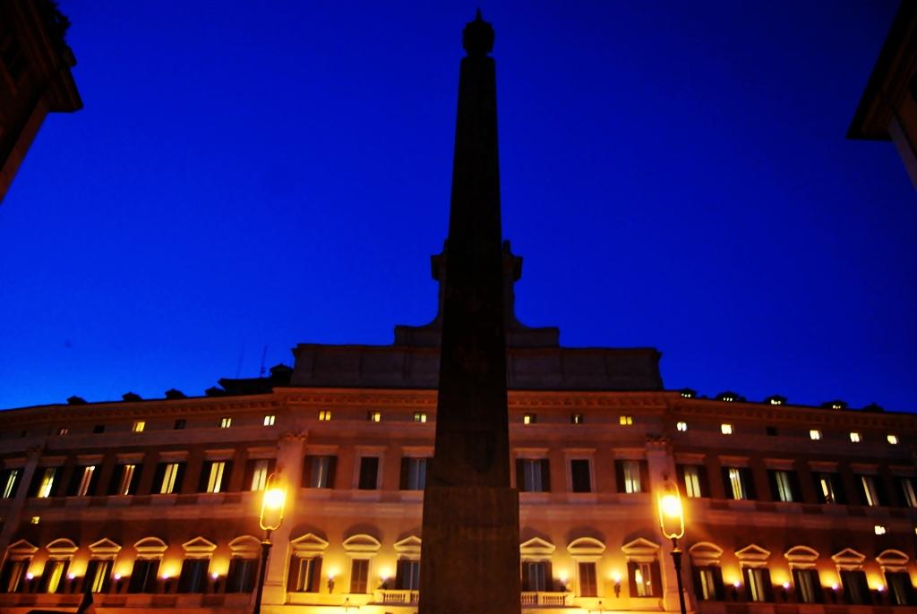 Elevation Of Terrazza Del Gianicolo Rome Italy