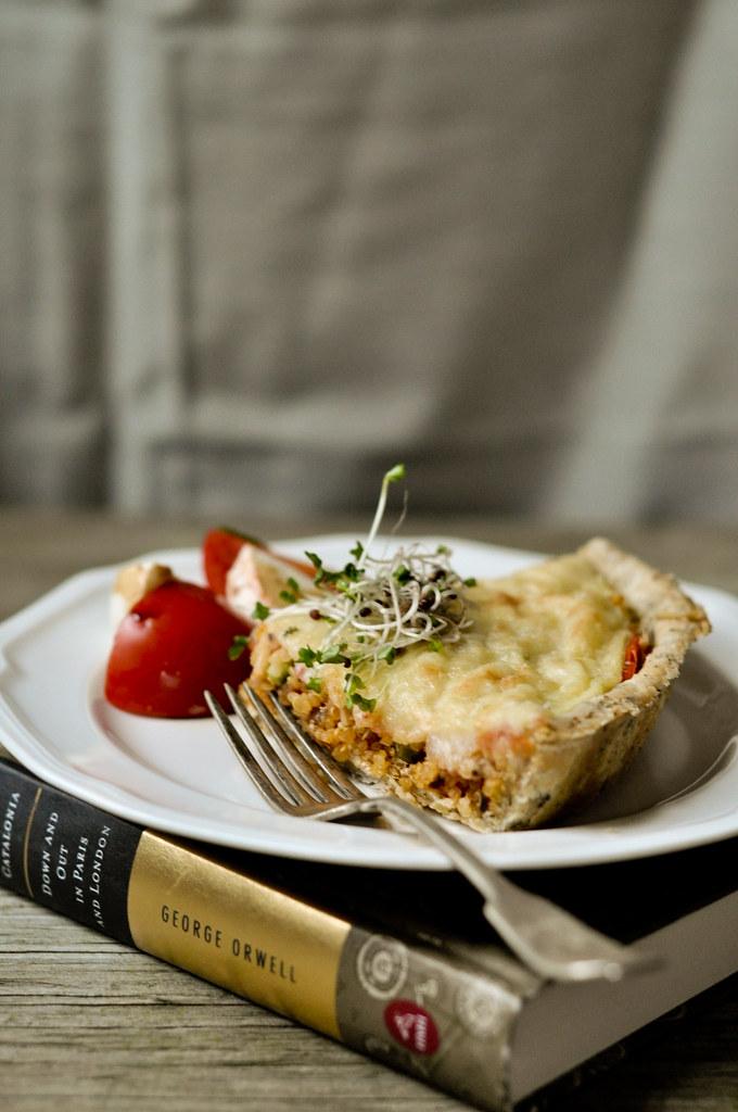 Quinoa Tart slice