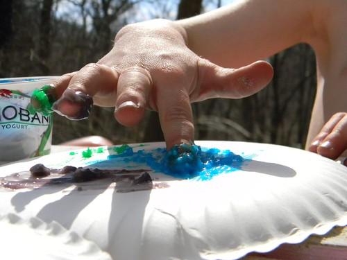 planetary finger paint