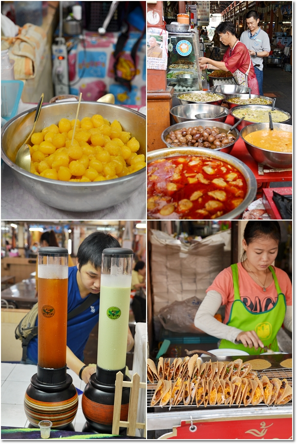 Various Ready Food @ Nang Loeng Market