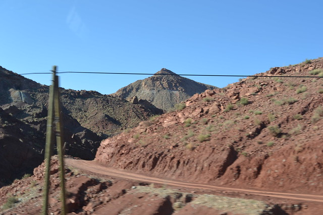 Leaving the Dades Gorges