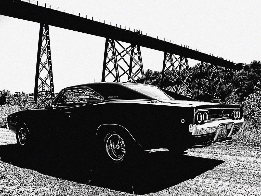 1968 Dodge Charger R T Scott Crawfords Most Interesting Flickr White Vintage Tekoa