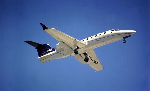 Learjet 45 ZS-PNP