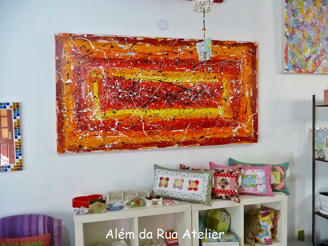 Tela abstrata