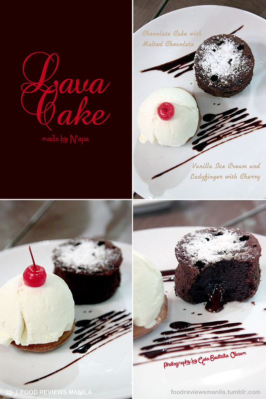 Lava Cake from Napa