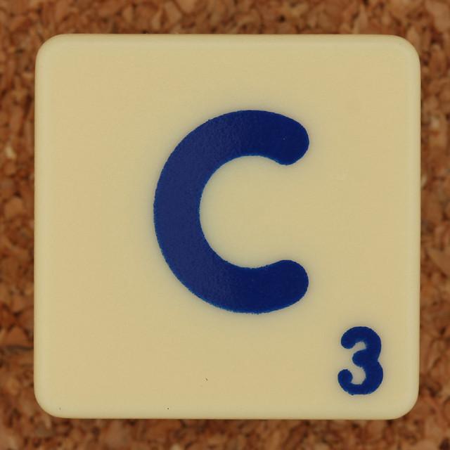 Scrabble Trickster Letter C