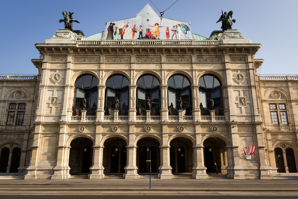 The Vienna State Opera House stands today as a proud symbol of Vienna's incredible history.