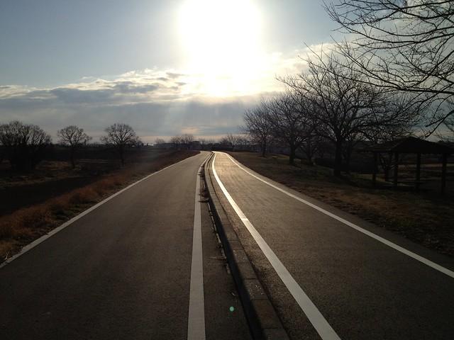 私の行く道