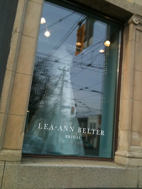 Lea-Ann Belter Bridal's new home!
