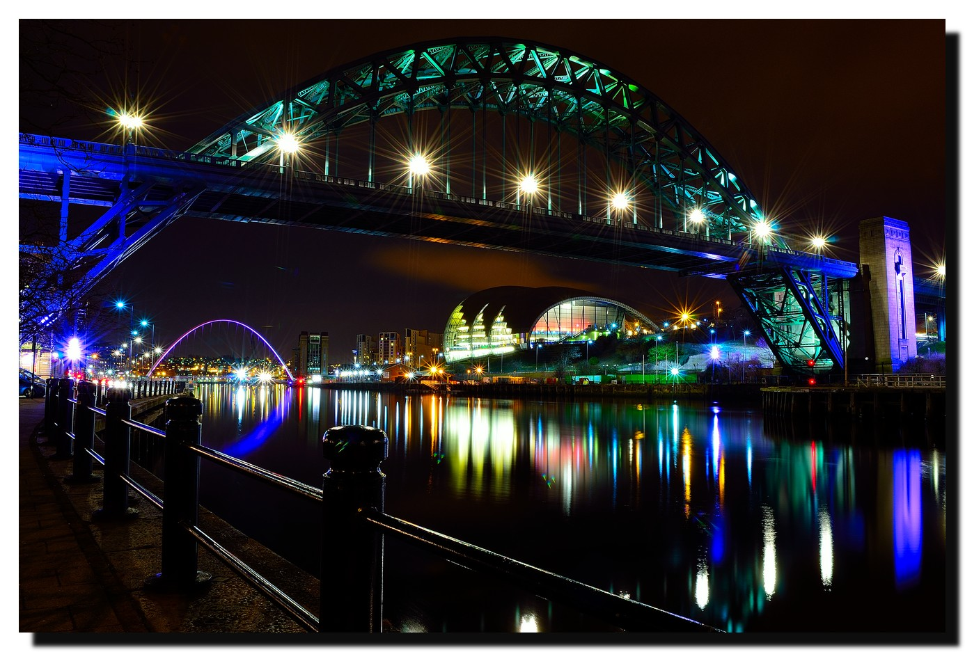 Quayside in colour