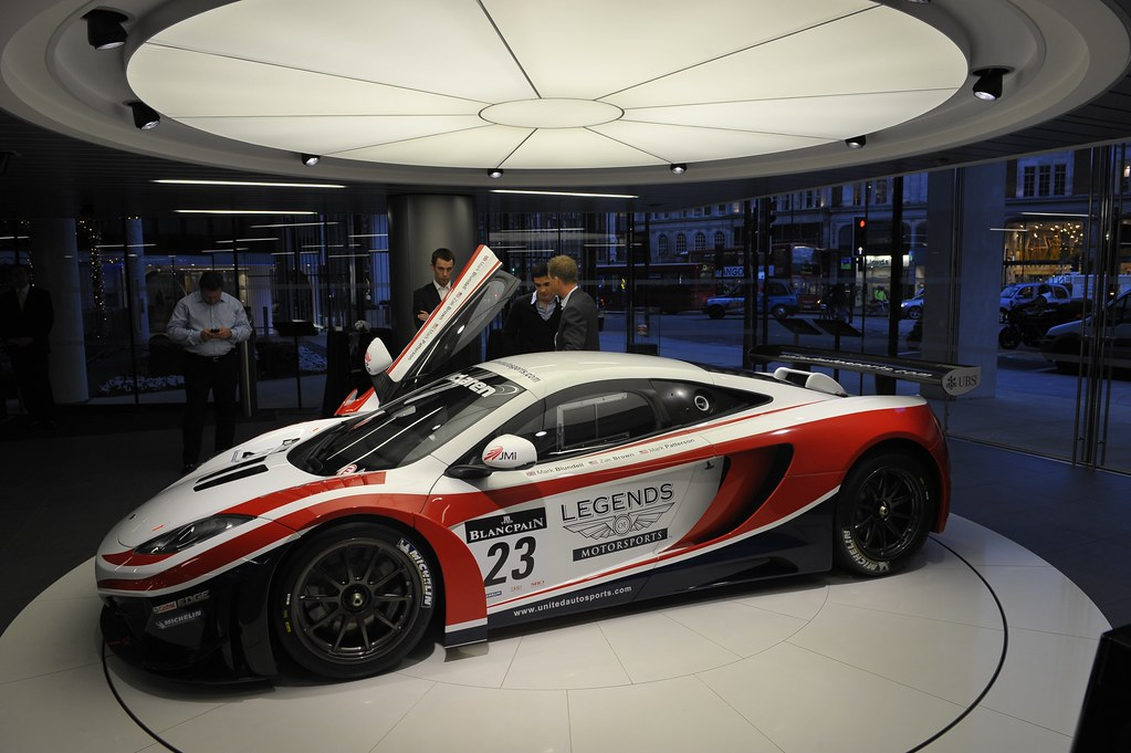 McLaren MP4-12C GT3 Launch