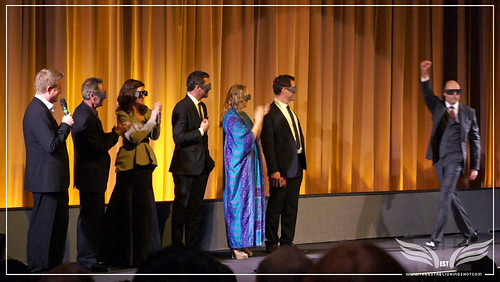 The Establishing Shot: UK John Carter Premiere Cast introduce the film Andrew Stanton, Producers Jim Morris & Lindsey Collins, James Purefoy, Samantha Morton, Dominic West, Mark Strong - BFI, London by Craig Grobler