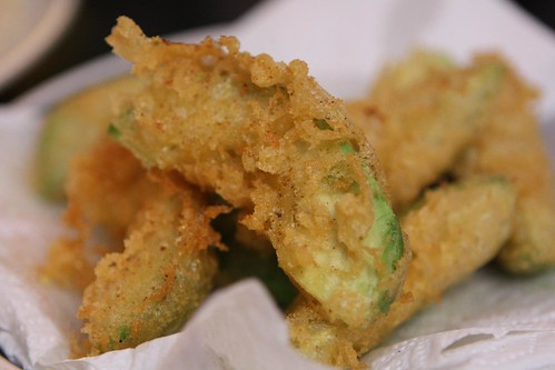 Beer Batter Fried Avocados
