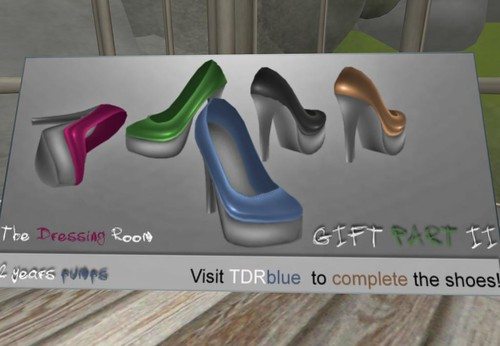 TDR 2 years pumps GIFT (all rights,5 colors), 1 linden by Cherokeeh Asteria