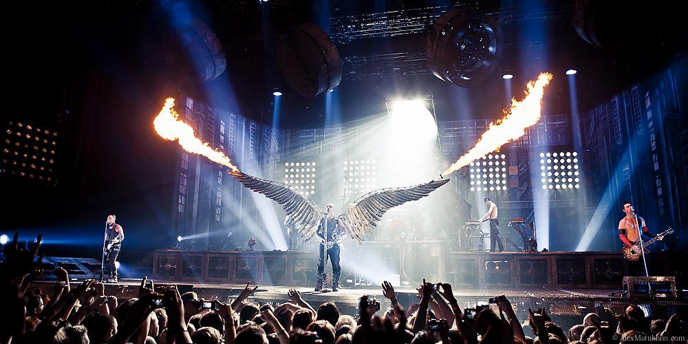Фото с концерта Rammstein | МЯ.СО