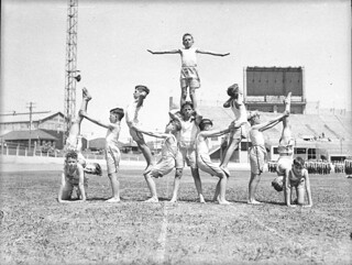 St Patrick's Day sports at Showground, March 1940, by Sam Hood