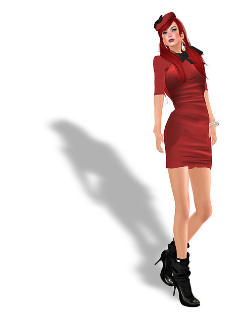 Free red dress