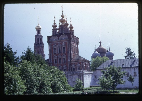 Overgate Church and Smolensk Cathedral, Moscow, 1969