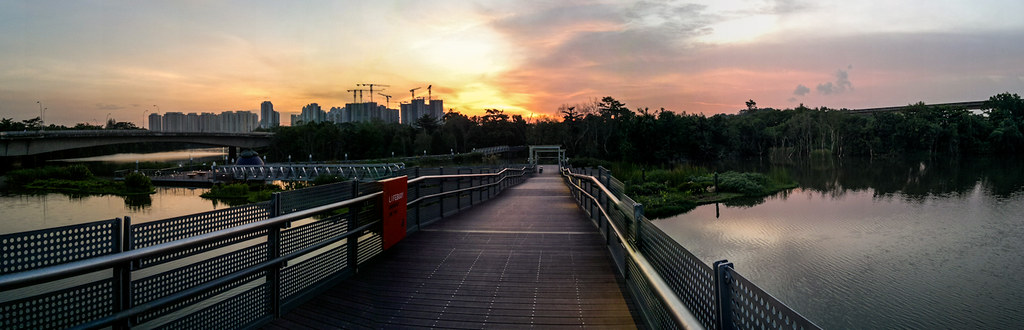 Evening Cycling @ Sengkang PCN