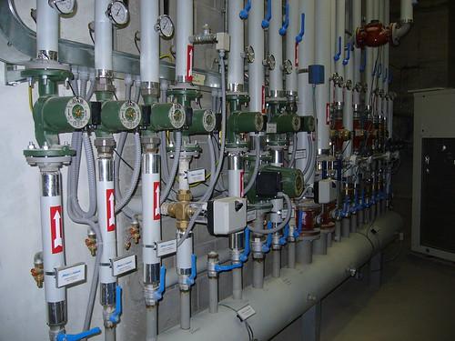 <p>Impianto centrale termica industriale</p>
