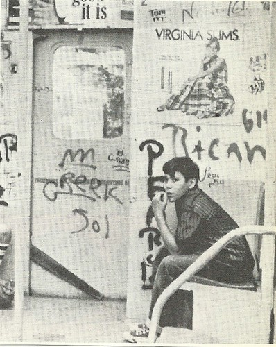 1972 NYC Subway Grafitti (Wide World)