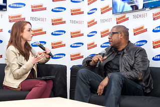 SXSW 2012 - Samsung TechSet Blogger Lounge