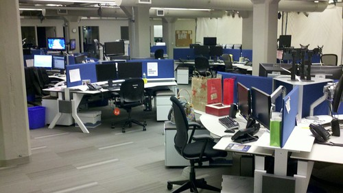 Under Construction: My newsroom