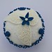 Blue and white by Hilary Rose Cupcakes