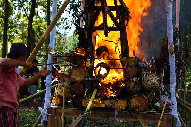 Balinese Cremation