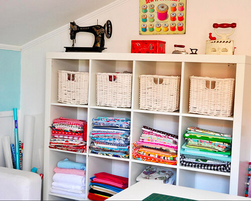 Ikea Expedit Sewing Room Storage Flickr Photo Sharing