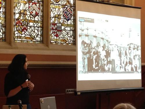 Rebekkah Abraham talking about HistoryPin