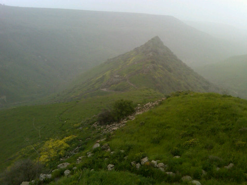 Golan Heights - Gamla National Park historic site