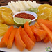 Vegetables and Fruit with Chili-Lime Salt - Yucatan, Mexico