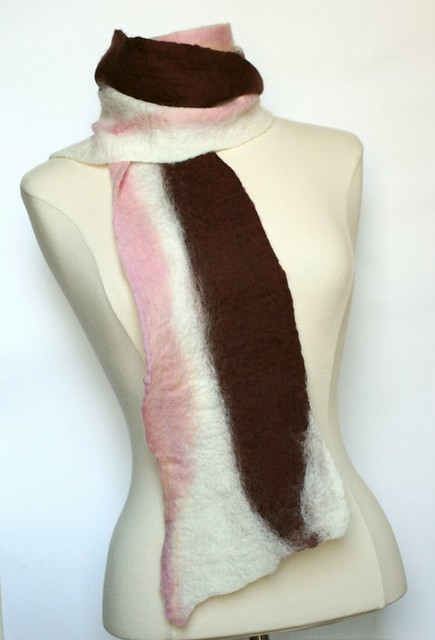 Bacon Scarf 100% Wool