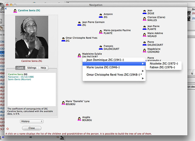 Mac Genealogy Software - ohmiGene 5 Ancestry