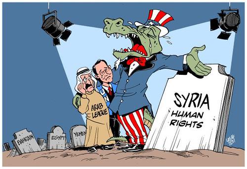 Le lacrime di coccodrillo dell'Occidente e la guerra in Siria