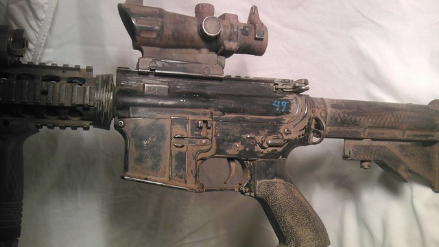 how to take apart airsoft m4