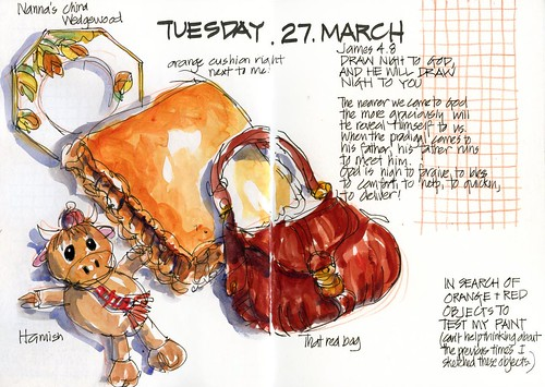 120327 Testing orange and red mixes by borromini bear
