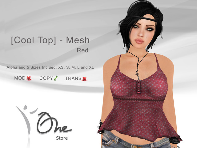 [Cool Top] Red