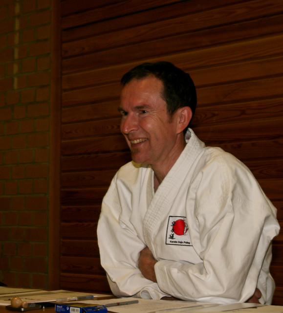 Ein zufriedener Trainer Peter Fritsch