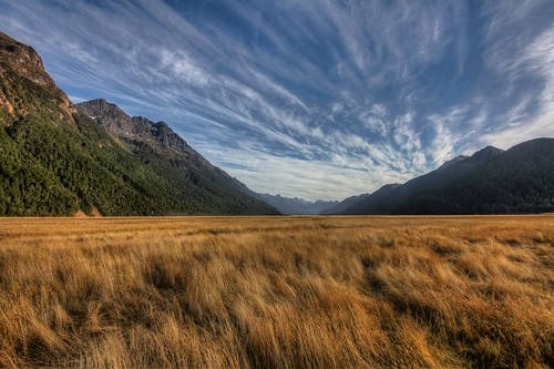 The Eglinton River Valley - Fjordland NP - New Zealand