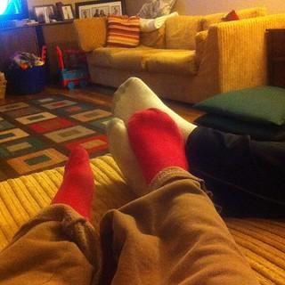 Cuddle feet :)