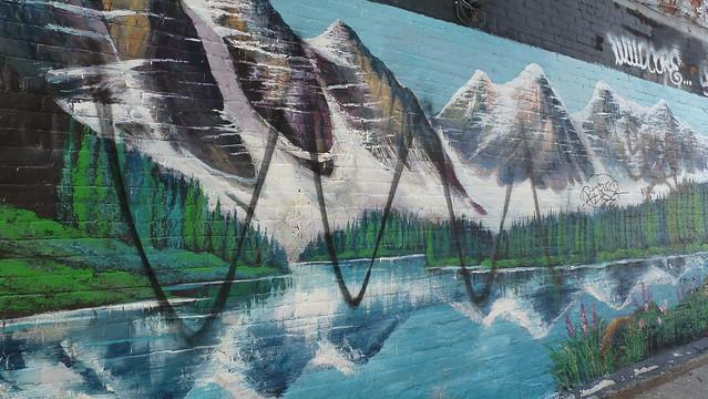 Street Art in Kensington Toronto