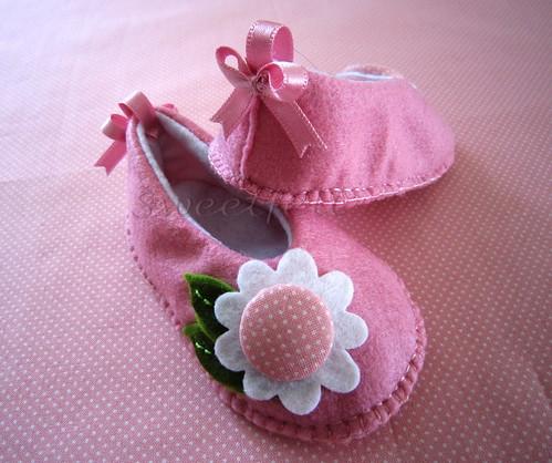 ♥♥♥ Rosinha, para as meninas bonitas... by sweetfelt \ ideias em feltro