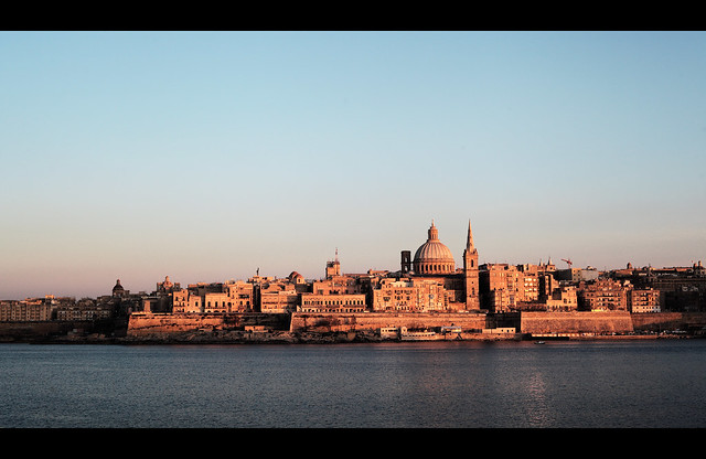 Valletta Burning.