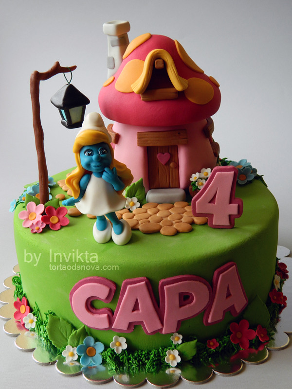 Smurfs Cakes And Cupcakes