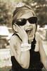 Ella as Audrey Hepburn #2 Ella having a