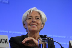 Christine Lagarde Press Briefing